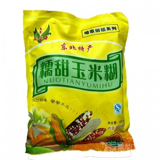 哈市玉米糊上海热销  半年卖出2万多袋